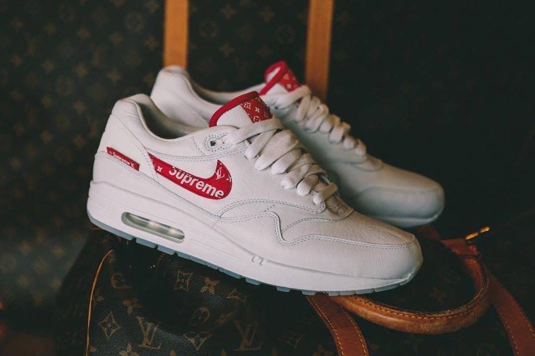Nike x Supreme x Louis Vuitton